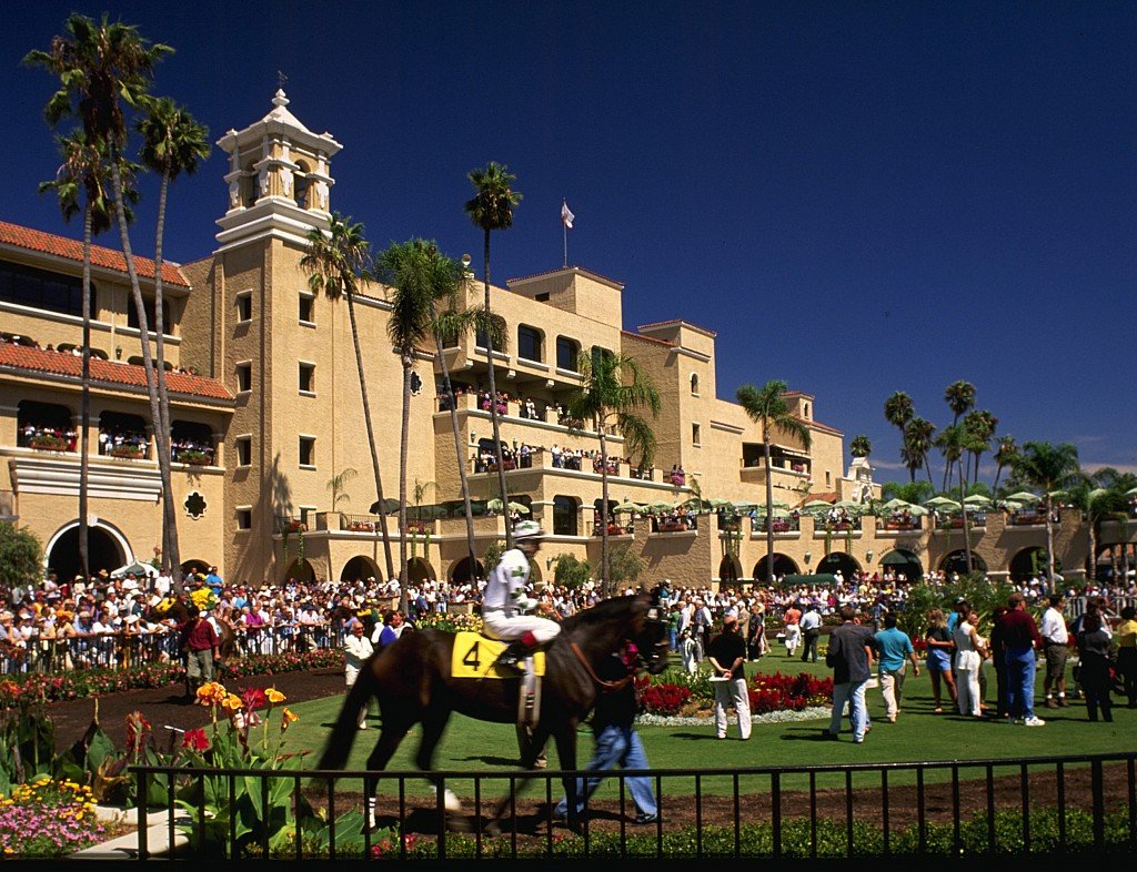 Del Mar Racetrack Experience Riders on your Mark!!!