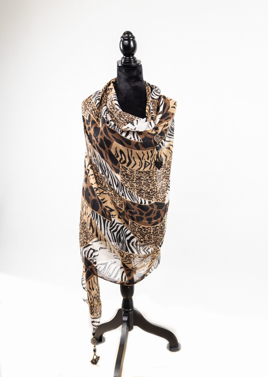 Go Wild for This Scarf