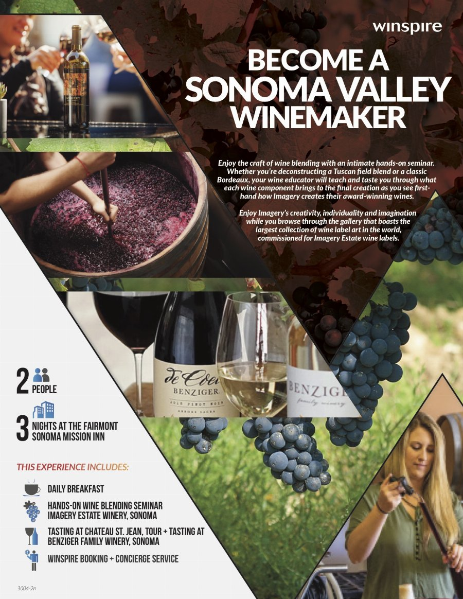 Become A Sonoma Valley Winemaker