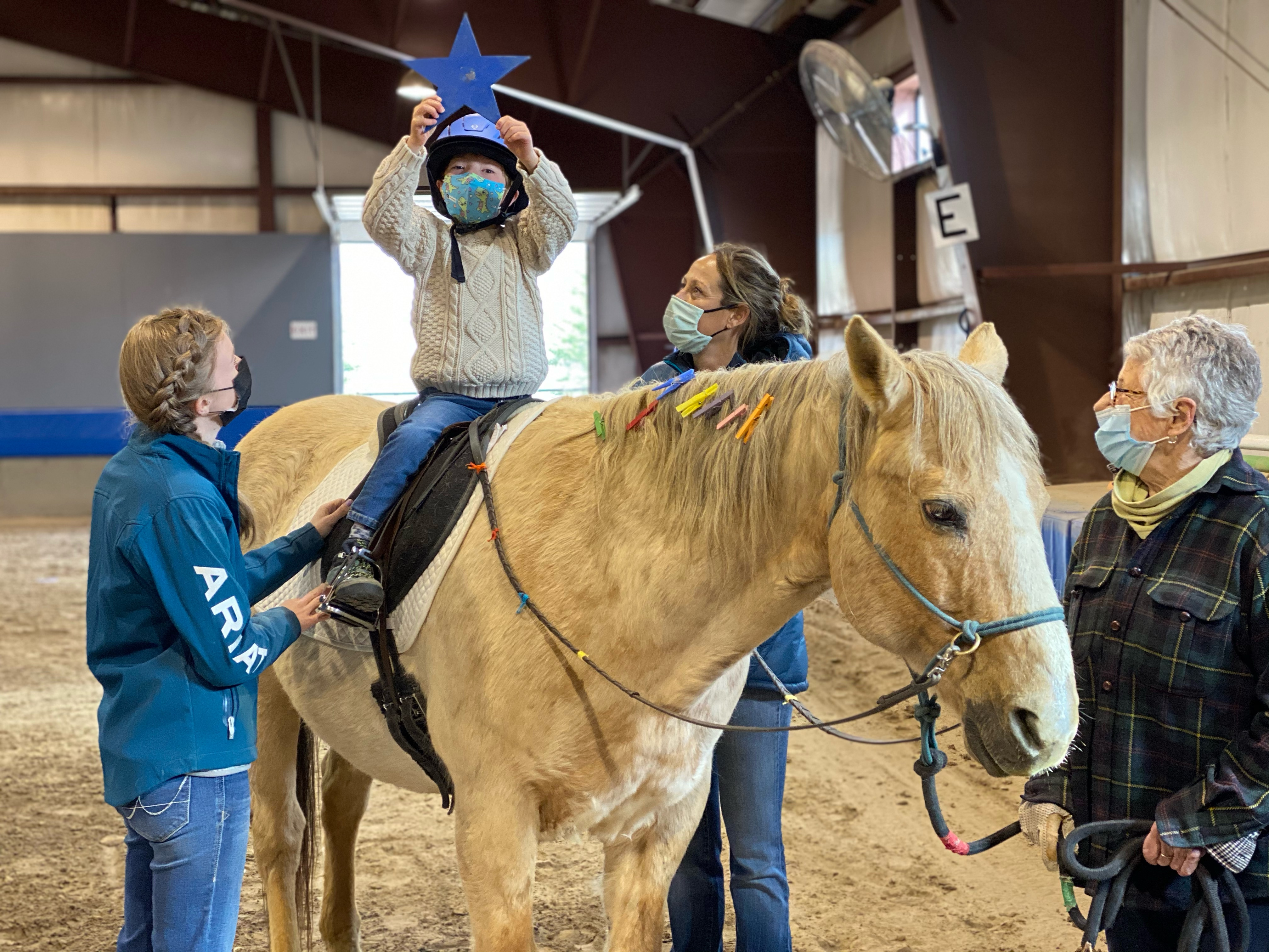 BACK IN THE SADDLE A MONTH-LONG PHOTO COMPETITION & FUNDRAISER SUPPORTINGJACKSON HOLE THERAPEUTIC RIDING