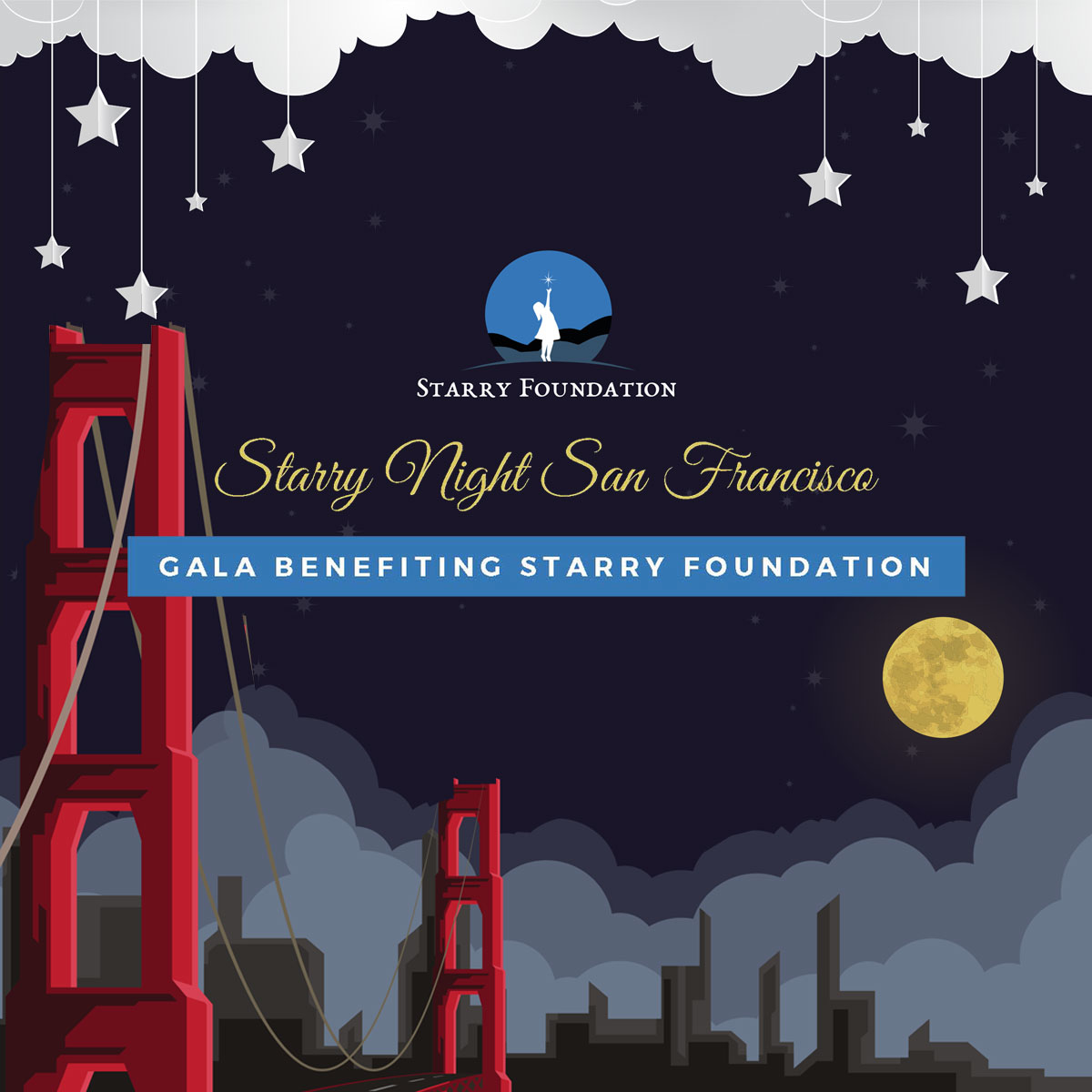 Join us for the Starry Night San Francisco Virtual Gala on Friday, September 18, 2020