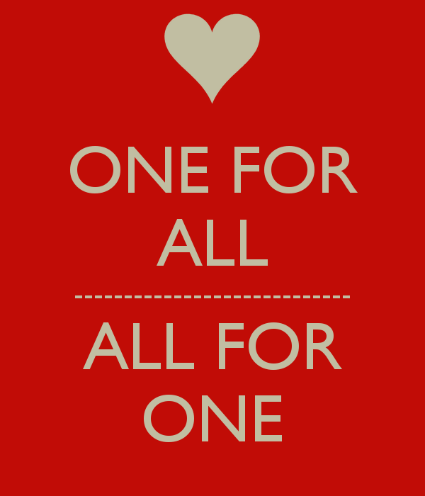 All for One ~ One for All